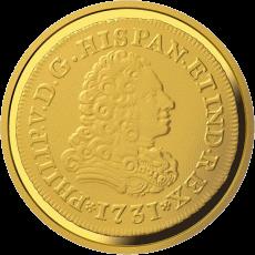Испания монета 100 евро Дом Бурбона, реверс