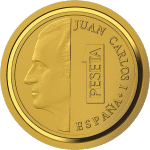 Испания монета 20 евро Дом Бурбона, реверс