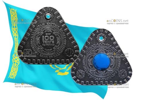 Казахстан монета-талисман 100 тенге Тумар
