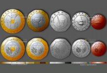 монеты Мавритании 2018 год