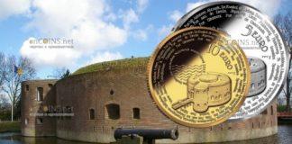 Нидерланды 10 евро линия обороны Амстердама