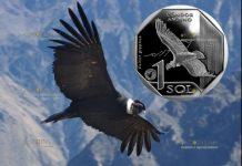 Перу монета 1 соль Андский кондор