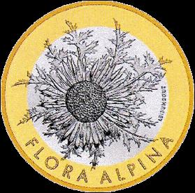 Швейцария монета 10 франков Серебряный чертополох, реверс