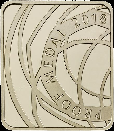 Англия памятный жетон в наборе коллекционных монет 2018 года