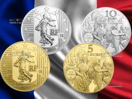 Франция монеты Серебряный экю