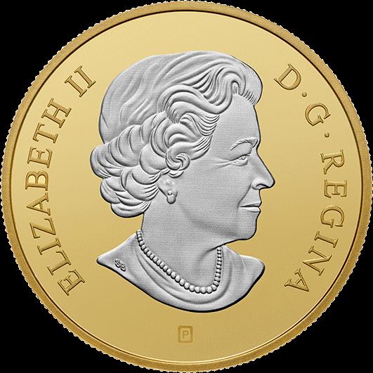 Канада 20 долларов Инуксук, аверс