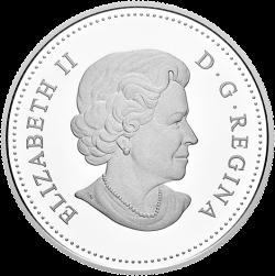 Канада монета 1 доллар Джеймс Кук, аверс