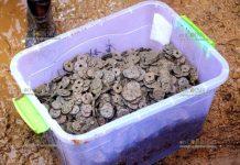 Клад монет весом 5,6 был найдет в Китае