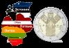 Литва монета 2 евро Балтийская монета