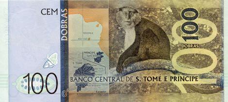 Сан-Томе и Принсипи банкнота 100 добра, оборотная сторона