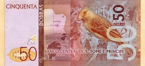 Сан-Томе и Принсипи банкнота 50 добра, оборотная сторона