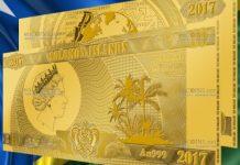Соломоновы Острова банкнота 10 долларов