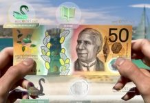 Австралия банкнота 50 долларов 2018 года