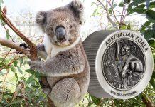 Австралия монета 60 долларов Австралийская коала