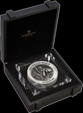 Австралия монета 60 долларов Австралийская коала, подарочная упаковка