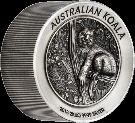 Австралия монета 60 долларов Австралийская коала, реверс