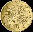 Франция монета 5 евро 25 лет Маастрихтскому договору, реверс