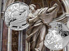 Италии монета 10 евро Барокко