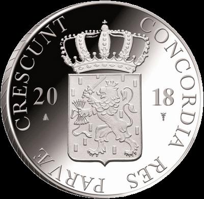 Нидерланды монета дукат провинция Оверэйссел, аверс