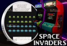 Остров-государство Ниуэ монета 2 доллара Space Invaders