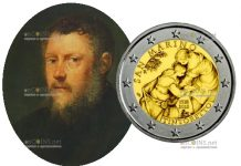 Сан-Марино монета 2 евро Тинторетто