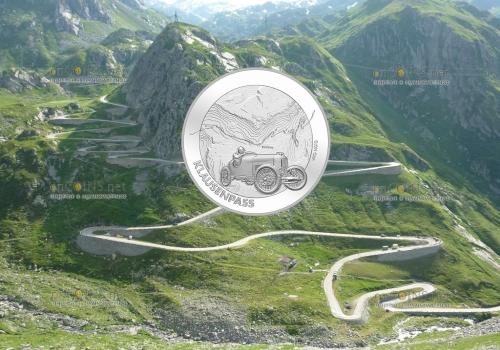 Швейцария монета 20 франков Перевал Клаузен