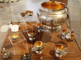 сотрудники Костромского историко-художественного музея нашли клад, серебряный сервиз