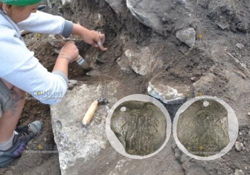 В крепости Лютица в Болгарии нашли редкую монеты