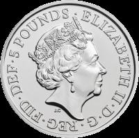 Великобритания монет четыре поколения королевской семьи, серебро, аверс