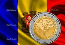 Андорра выпустит памятную монету 2 евро 70 лет Декларации прав человека
