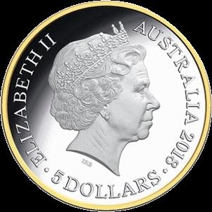 Австралия монет 5 долларов XXI Игры Содружества, аверс