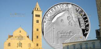 Италия монета 10 евро кафедральный собор Трани