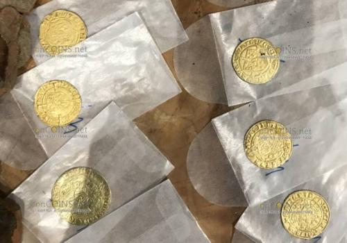 Клад золотых и серебряных монет нашли в Нидерландах