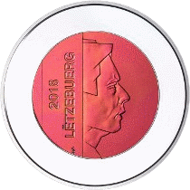 Люксембург монета 5 евро серия Замки Люксембурга, аверс