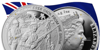 Новая Зеландия монета 1 доллар Взятие Ле Кусни