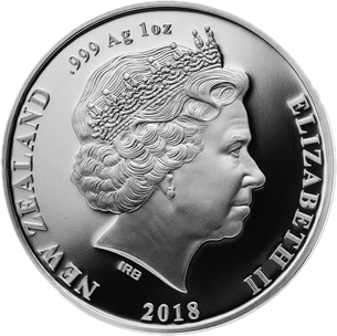 Новая Зеландия монета 1 доллар Взятие Ле Кусни, аверс