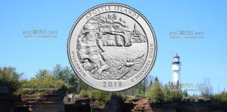 США четверть доллара Апослские острова