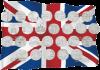 В Великобритании вышли монеты 10 пенсов - буквы английского алфавита