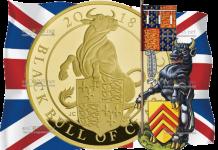 Великобритания монета Черный Бык Кларенса