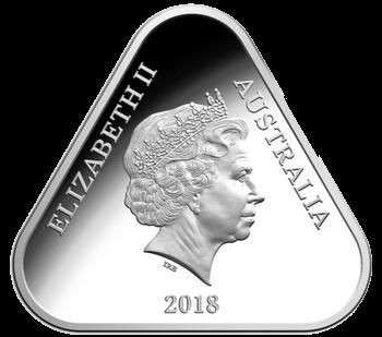Австралия монета 5 долларов Австралийские силы обороны, аверс