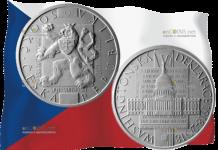 Чехия монета 500 крон 100-летие независимости