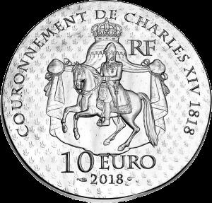 Франции монет 10 евро Дезире Клари, аверс