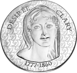 Франции монет 10 евро Дезире Клари, реверс