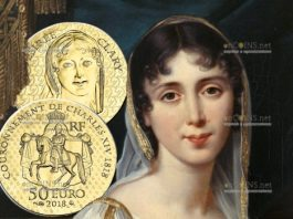 Франции монет 50 евро Дезире Клари