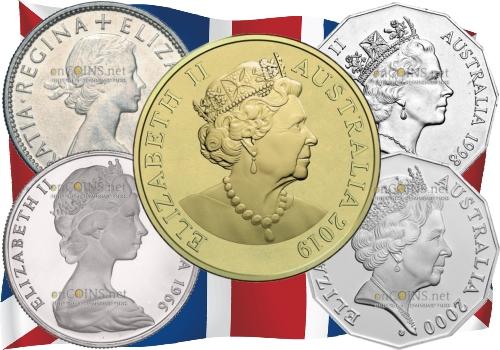 На монетах Австралии изменится изображение королевы Елизаветы II