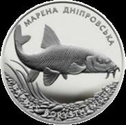 Украина монета 10 гривен Марена днепровская, реверс
