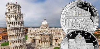 Италия монета 5 евро кафедральный собор Успения Пресвятой Девы Марии