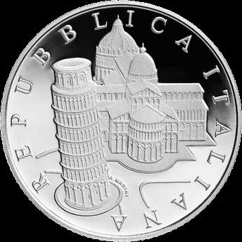 Италия монета 5 евро кафедральный собор Успения Пресвятой Девы Марии, аверс