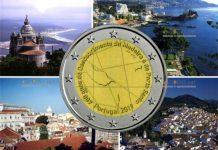 Португалия монета 2 евро 600 лет открытия острова Мадейра