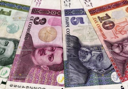 банкноты Таджикистана